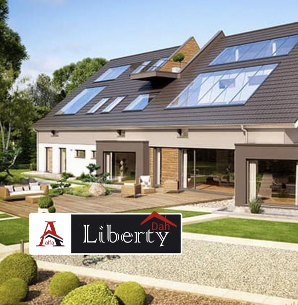 Будівництво енергоефективних будинків від Альфа Ліберті Дах.