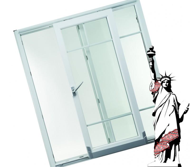 Металопластикові двері REHAU