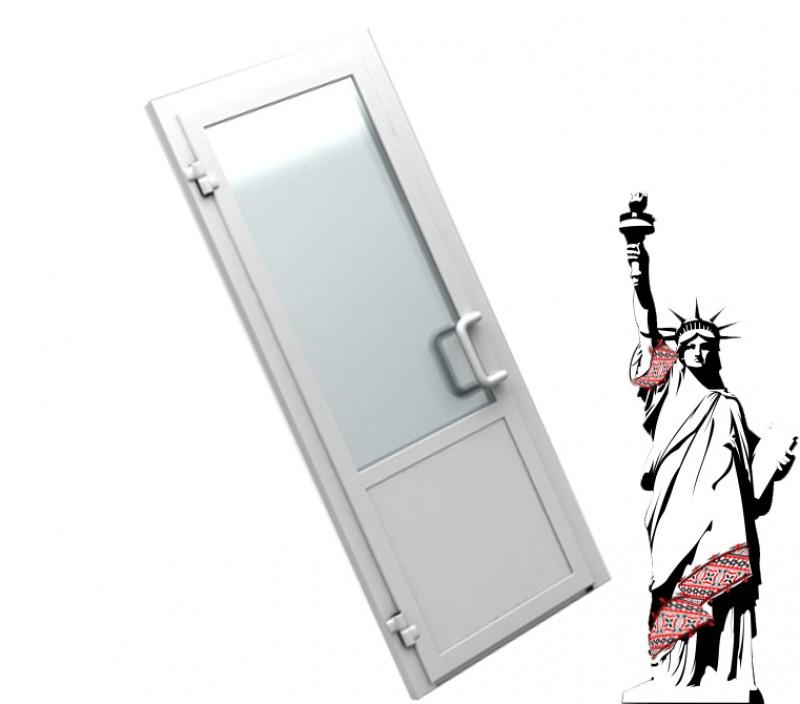 Металопластикові двері WDS